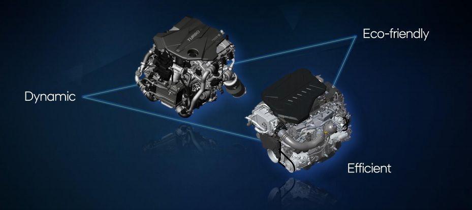 nové motory Hyundai 3,0 D , 3,5 T-GDi