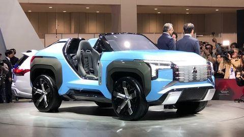 Mitsubishi vystavuje v Tokiu tri novinky