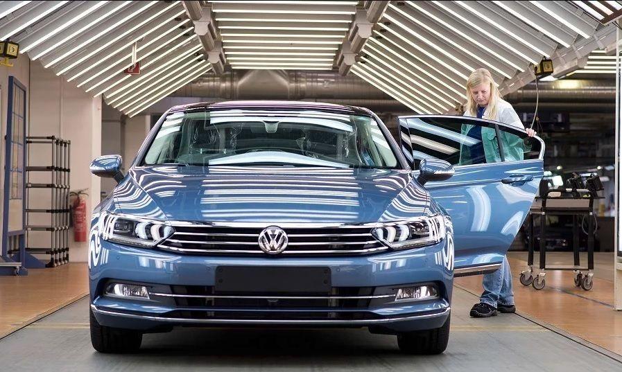 Výroba VW Passat na Slovensku