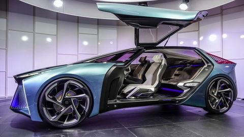 Lexus predstavuje svoju víziu elektrifikácie