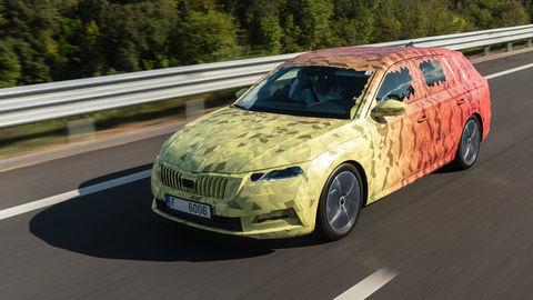 Nová Škoda Octavia debutuje ako kombi aj s plug-in-hybridom