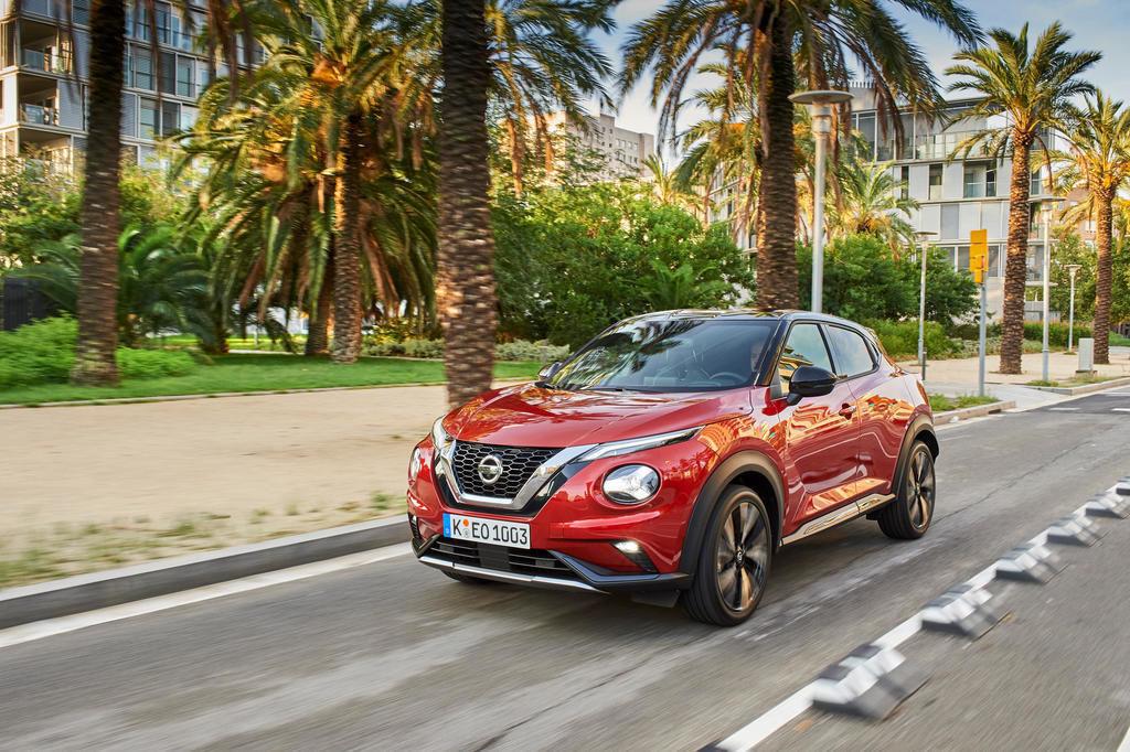 Nový Nissan Juke prvá jazda test