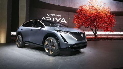 Nissan Ariya bude elektrický crossover