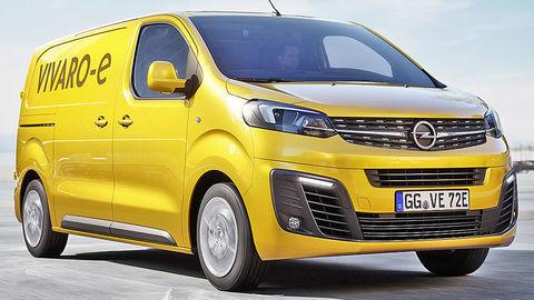 Opel elektrifikuje dodávkové Vivaro