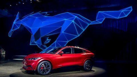 Elektrický Ford Mustang Mach-E oficiálne predstavili