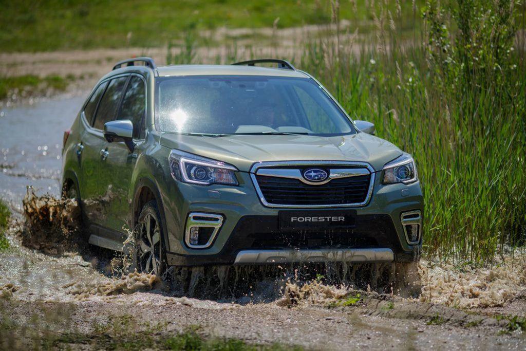 Nové Subaru Forester e-Boxer