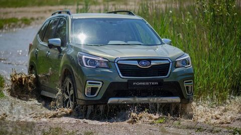 Subaru Forester e-Boxer: Hybridný boxer s mnohými výhodami