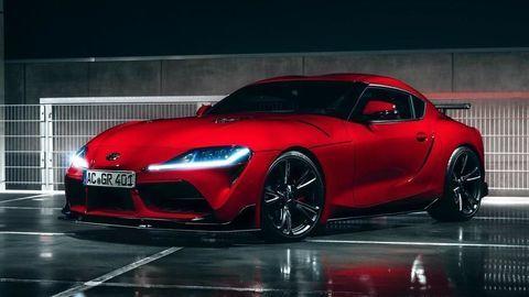 Toyota GR Supra vyšla z posilňovne AC Schnitzer, kde trénujú najmä BMW