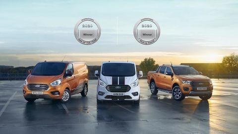 Dva primáty pre Ford: Van a Pick-up roka 2020