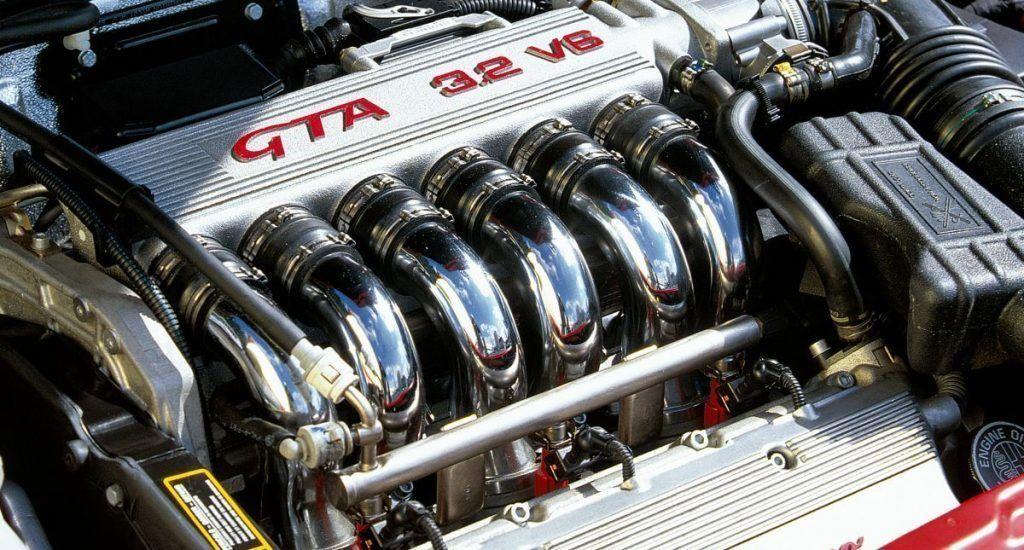 motor Alfa Romeo V6 Busso