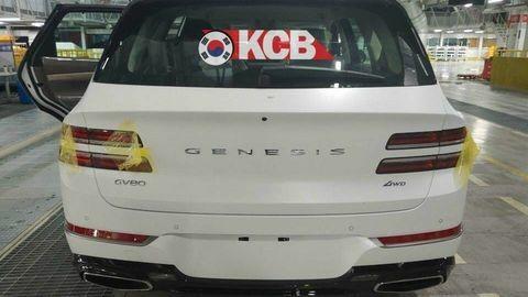 Luxusný Genesis GV80 odhalili vo výrobnej hale
