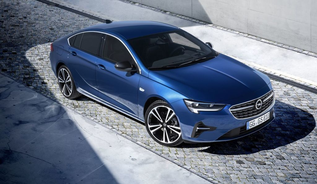 Facelift Opel Insignia 2020