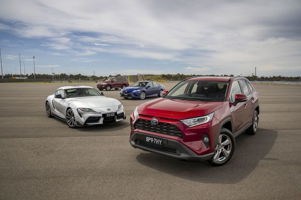 Toyota RAV4 Hybrid Australian Drive