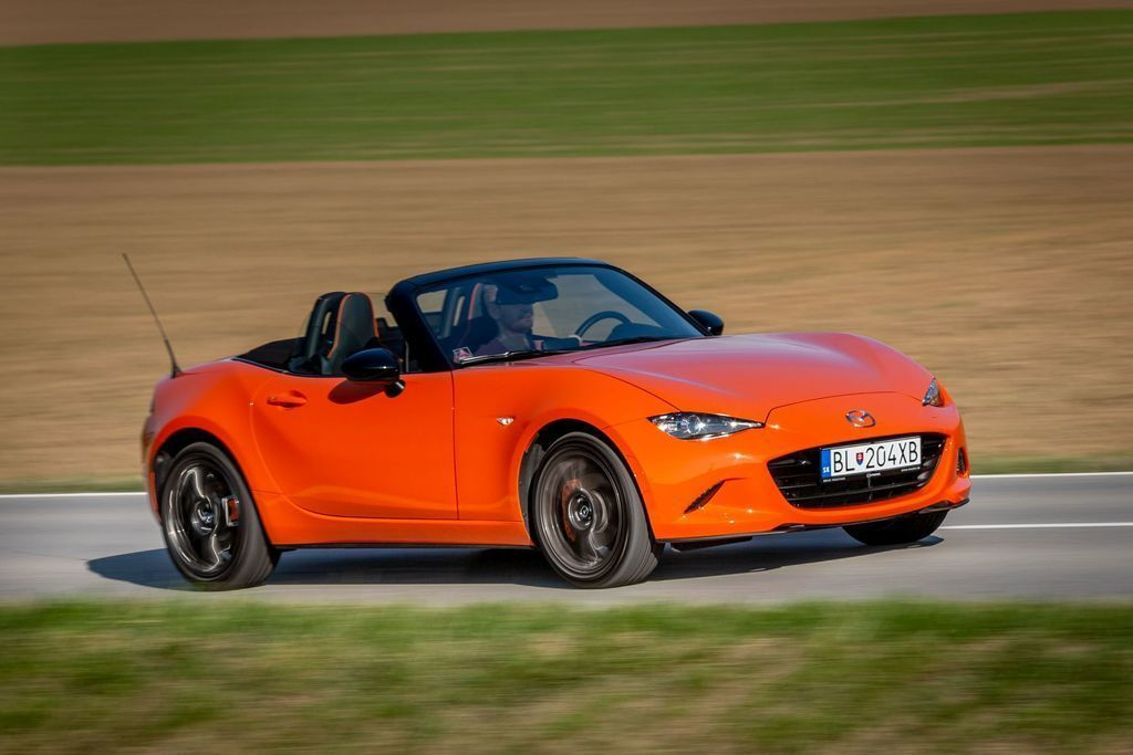TEST Mazda MX-5 30th Anniversary