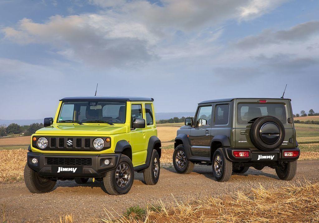 Suzuki počet vyrobených vozidiel