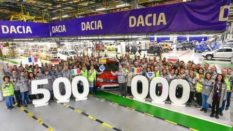 Polmiliónta Dacia Duster z Rumunska