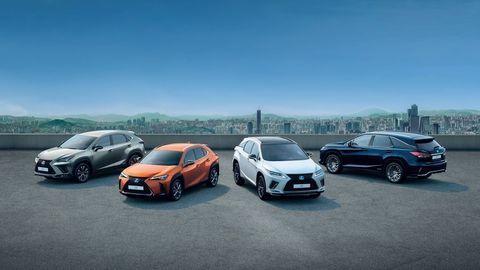 Lexus oslavuje. V Európe predal už pol milióna SUV