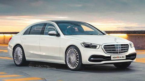 Nový Mercedes-Benz Triedy S 2020 môže vyzerať takto