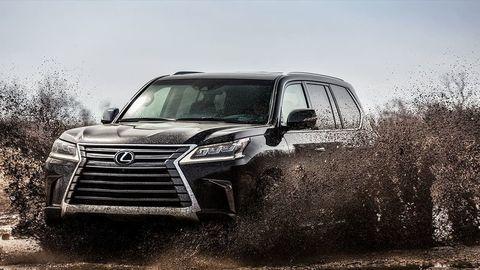 Nová SUV vlajková loď Lexus už o dva roky?
