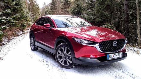 TEST Mazda CX-30 Skyactiv-X AWD: Nežná revolúcia