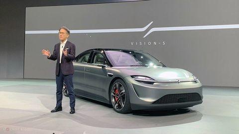 Sony šokuje elektromobilom zajtrajška