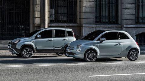 Fiat predstavil hybridnú Päťstovku a Pandu