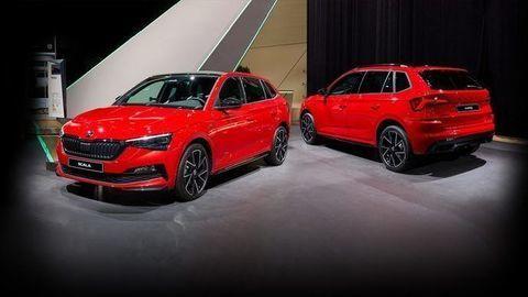 Škoda Scala a Kamiq Monte Carlo prichádzajú na Slovensko. Poznáme ceny