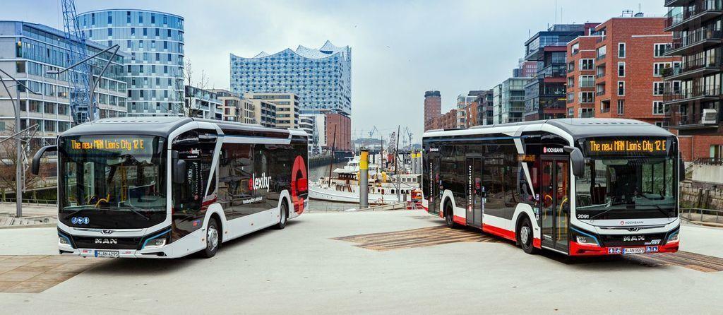 prvé e-busy pre Hamburg