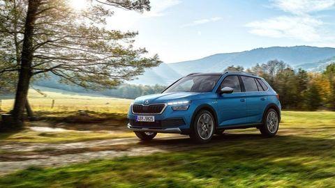Škoda Kamiq Scoutline prichádza s plastovou bižutériou