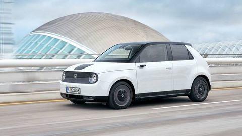 Elektrická Honda e: Nové foto, informácie, ceny a výbava