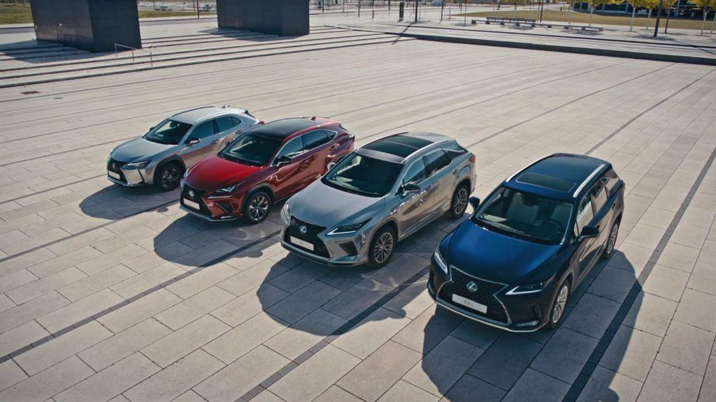 Lexus v Európe, najpredávanejšie modely