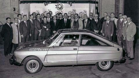 Experiment nazvaný Citroën M35 sa nepodaril