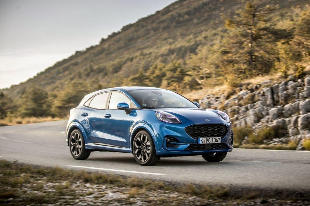 Ford puma 2020 test