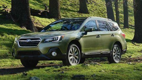 Subaru Outback je najpredávanejšie benzínové kombi triedy