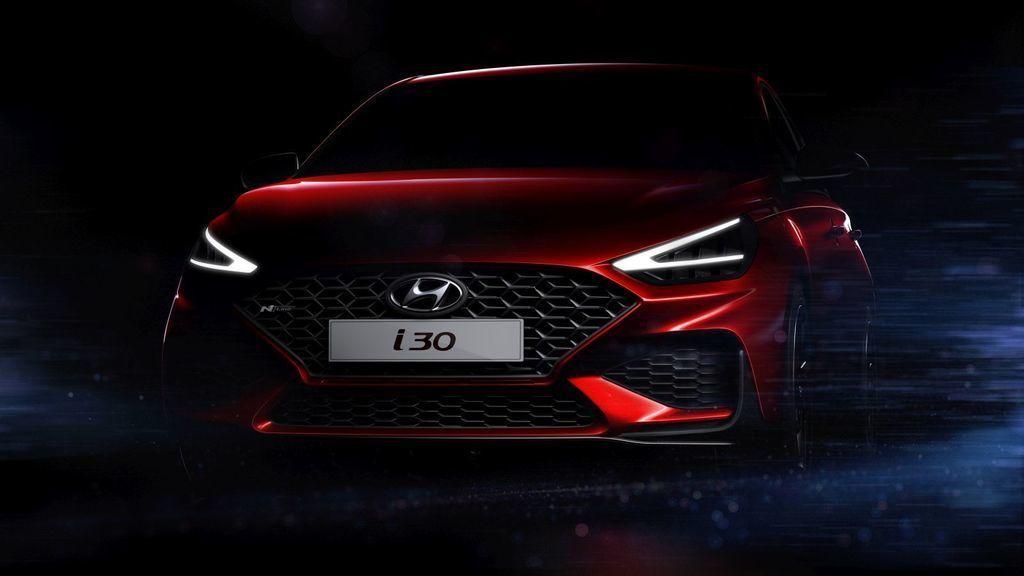 modernizovaný Hyundai i30 2020 facelift