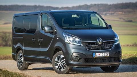 Renault Trafic 2.0 dCi SpaceClass: Veľký posun