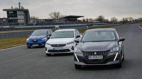 TEST Peugeot 208, Opel Corsa a Renault Clio: Každý je iný