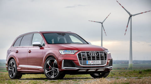 Audi SQ7: Naftová lokomotíva pre 7 pasažierov