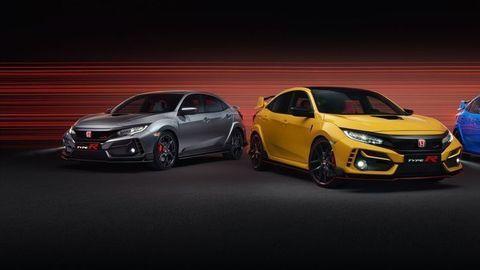 """Honda Civic Type-R teraz aj ako Sport Line a odľahčená """"limitka"""""""