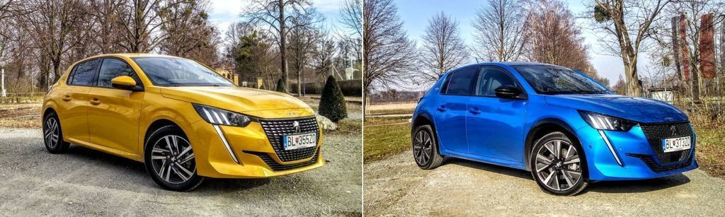 Peugeot 208 porovnanie Allure vs GT Line