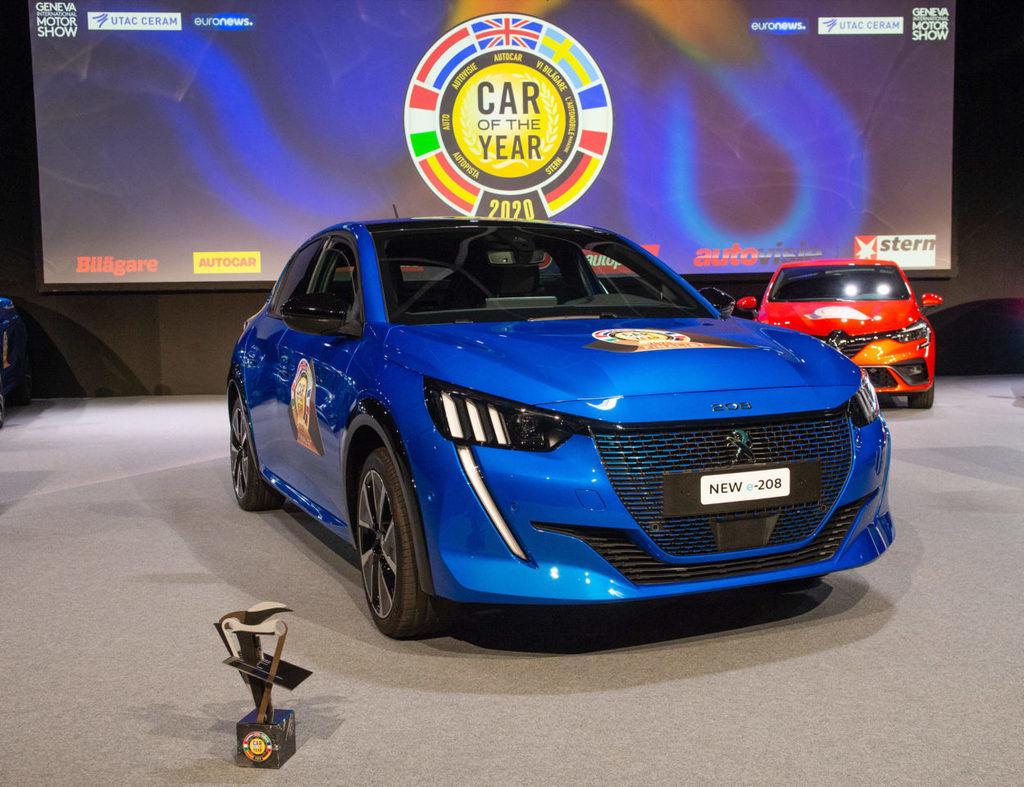 Europske auto roka 2020 Peugeot 208