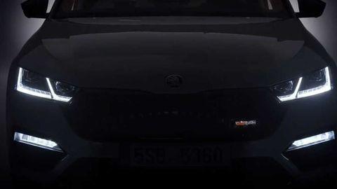 Škoda láka novým videom Octavie RS