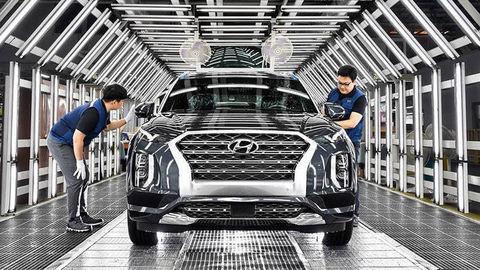 Hyundai uzatvoril kórejskú fabriku na výrobu SUV modelov