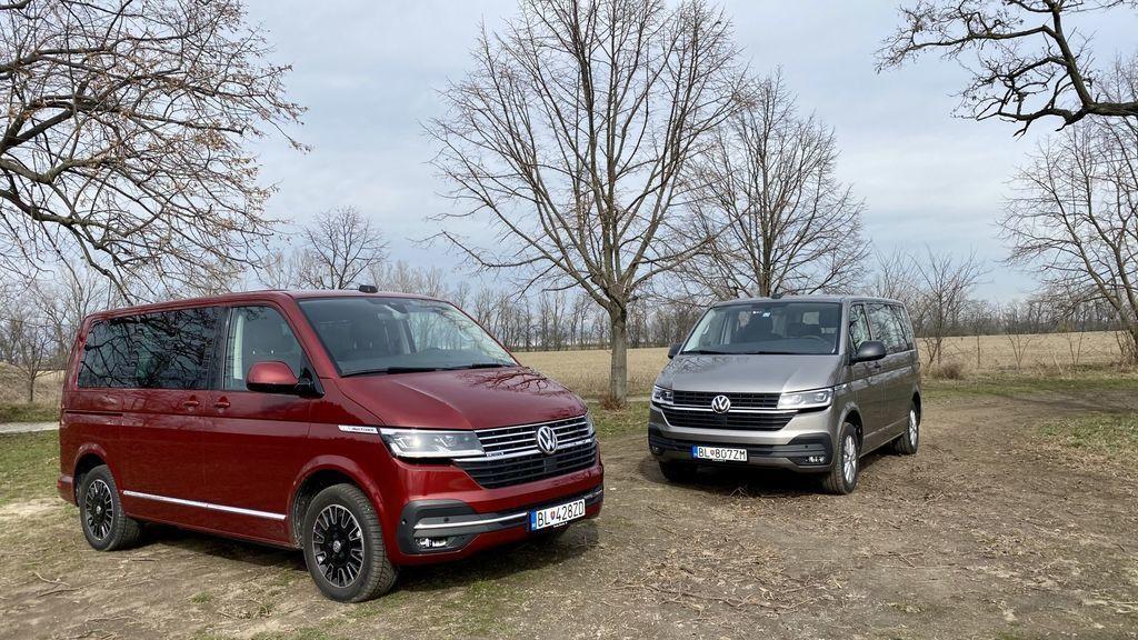 VW Multivan T6.1 test