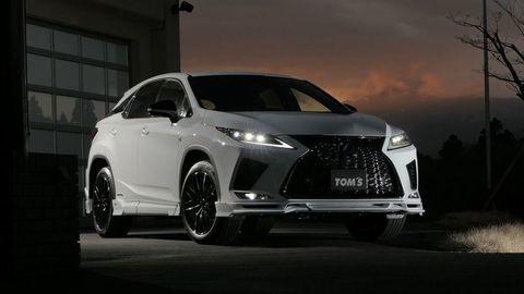Lexus RX si prišiel po agresívnejšiu vizáž do firmy TOM's