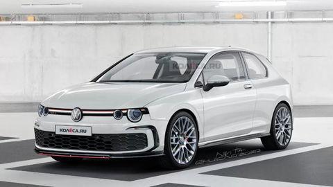 VW Golf GTI s alternatívnym vzhľadom. Ako sa vám páči?