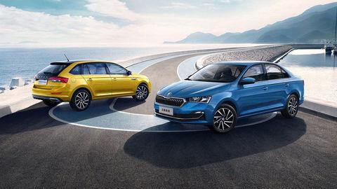 Modernizovaná Škoda Rapid 2020 prichádza na čínsky trh