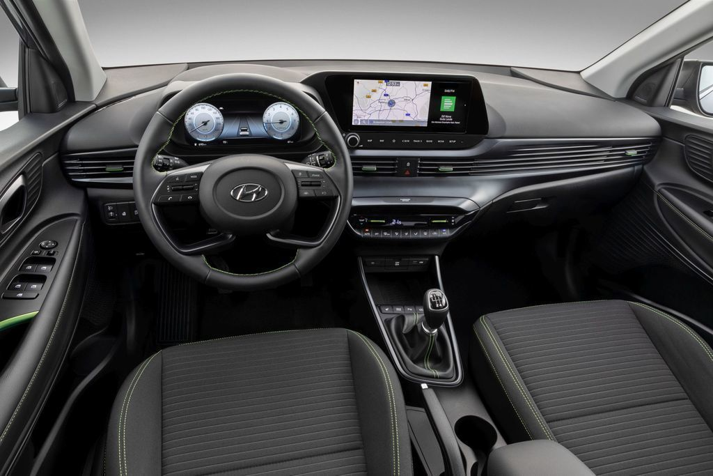 Hyundai i20 interiér