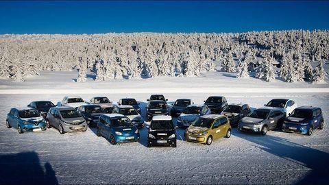 Aký je reálny dojazd elektromobilov v zime? Nóri otestovali 20 modelov