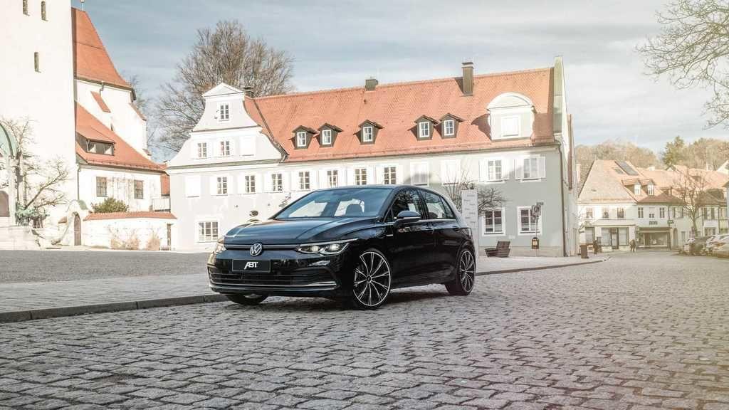 VW Golf VIII tuning ABT